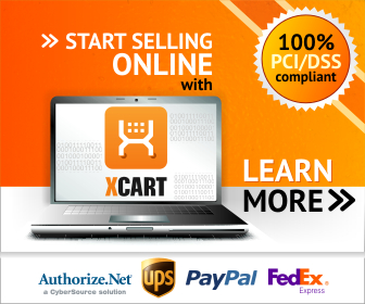 Start Selling Online   with X-Cart.